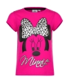Minnie mouse t shirt fuchsia voor meisjes