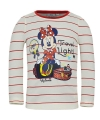 Minnie mouse t shirt wit rood voor meisjes