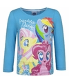 My little pony shirt blauw lange mouwen