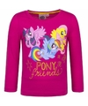 My little pony shirt fuchsia lange mouwen