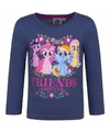 My little pony shirt navy lange mouwen