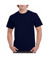 Navyblauw katoenen shirt voor volwassenen