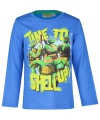 Ninja turtles t shirt blauw
