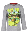 Ninja turtles t shirt grijs