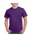 Paars katoenen shirt voor volwassenen