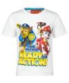 Paw patrol t shirt wit voor kinderen