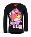 Pretty birds t shirt zwart