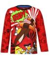 Rood angry birds t shirt voor kinderen