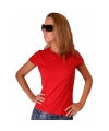 Rood dames t shirt bella