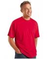 Rood grote maten t shirt 4xl