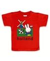 Rood nijntje baby t shirt holland