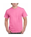 Roze katoenen shirt voor volwassenen