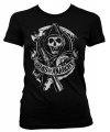 Sons of anarchy shirt dames zwart