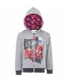 Spiderman sweater met rits grijs