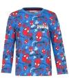 Spiderman t shirt blauw voor jongens