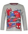 Spiderman t shirt grijs voor jongens