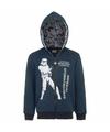 Star wars sweater met rits donkerblauw