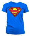 Superman logo t shirt dames