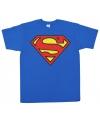 Superman logo t shirt heren