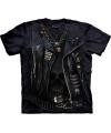 T shirt bikerjack zwart