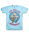 T shirt breaking bad los pollos blauw