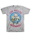 T shirt breaking bad los pollos grijs