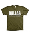 T shirt dallas logo
