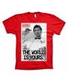 T shirt scarface rood