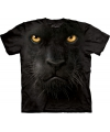 T shirt zwarte panter