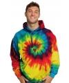 Tie dye sweatshirt rainbow
