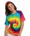 Tie dye t shirt rainbow