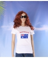 Wit dames t shirt australie