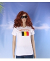 Wit dames t shirt belgie