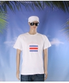 Wit heren t shirt costa rica