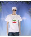 Wit heren t shirt iran