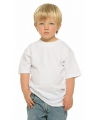 Wit kinder t shirt