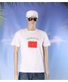 Wit t shirt marokko volwassenen