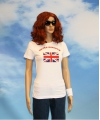 Wit t shirt united kingdom voor dames