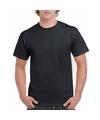 Zwart katoenen shirt voor volwassenen