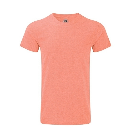 Basic heren T shirt koraal rood