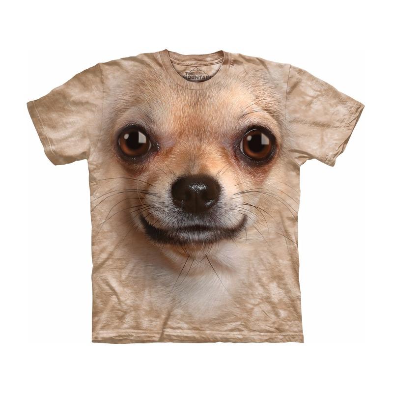 Honden T shirt Chihuahua voor volwassenen
