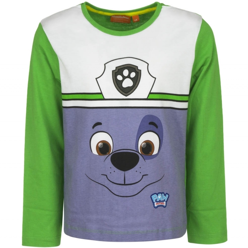 Paw Patrol t shirt Rocky groen
