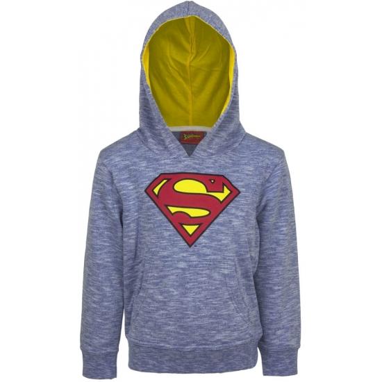 Superman capuchon sweater blauw voor jongens