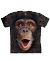 Aap t shirt chimpansee jong voor volwassenen