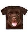 Honden t shirt bruine labrador puppy voor kinderen