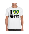 I love brazilian girls t shirt wit heren