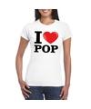 I love pop t shirt wit dames
