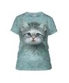 Kitten poes t shirt voor vrouwen