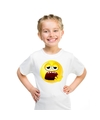 Smiley t shirt moe wit kinderen