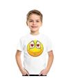Smiley t shirt verliefd wit kinderen